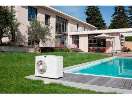 Calentar piscina con bomba de calor