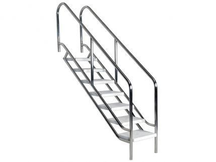 Escaleras piscina noticias piscinas y jard nes for Escaleras de piscinas para personas mayores