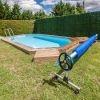 Enrollador de cubiertas Gre para manta términa de piscinas