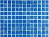 Gresite para piscina azul niebla textura antideslizante 25 x 25 mm
