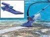 Limpiafondos manual hidráulico Venturi con pértiga Gre