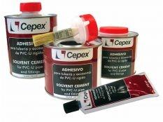 Adhesivo para productos PVC de la marca Cepex