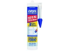 Ceys Total Tech adhesivo sellador transparente 290 ml
