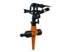 Aspersor riego Gardena de impulso sectorial continuo con pincho 90 - 360º