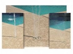Boquilla de impulsión para piscina Trio Deck-Jet en ABS