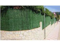 Brezo artificial verde para vallas