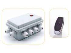 Caja control led modulador con mando a distancia