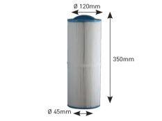 Cartucho filtro Spa GL300, GL400 y GL500, GL525L, GL636L y GL6365XL Beachcomber