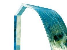 Cascada para piscina Cortina Cobra Astralpool en acero inoxidable