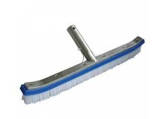 Cepillo piscina reforzado curvo clip