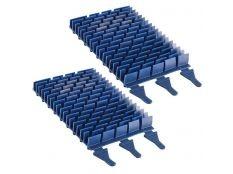 Cepillos de goma PVC para robot limpiafondos Vortex Zodiac