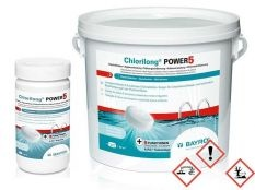 Chlorilong Power 5 Pastillas de cloro multifunción 250 g Bayrol