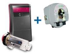 Clorador salino Go Salt Idegis Ctx + Bomba pH E-Series