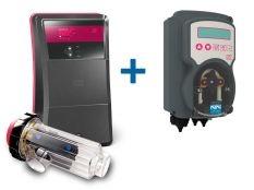 Clorador salino Go Salt Idegis Ctx + Bomba pH MyPool 2