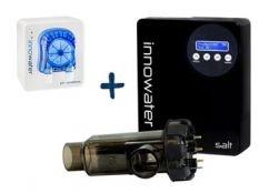 Clorador salino Innowater SMC Salt + Bomba pH Wireless Innowater