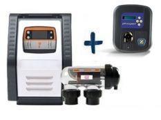 Clorador salino Salt Expert E-Series + Bomba pH Expert Zodiac