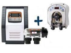 Clorador salino Salt Expert E-Series + Bomba pH Simpool Aqua