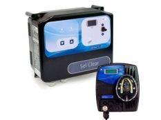 Clorador salino Sel Clear + Bomba ph Control Basic Next Astralpool