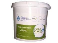 Cloro granulado al 90 % Natur Clara