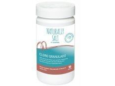 Cloro granulado de choque SOS especial cloración salina 1 kg Bayrol