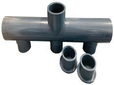 Colector PVC en Batería de Astralpool para depuradora de piscina