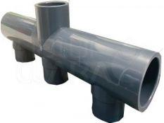 Colector PVC en Batería para depuradora de piscina
