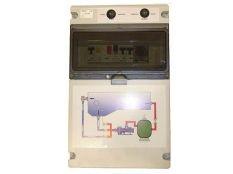 Cuadro eléctrico piscina con diferencial y programador