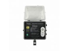 Cuadro eléctrico Emaux con mando a distancia para cascada laminar Abs Led
