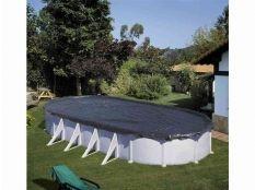 Cubierta de invierno piscina desmontable ovalada Gre