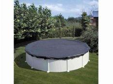 Cubierta de invierno piscina desmontable redonda Gre