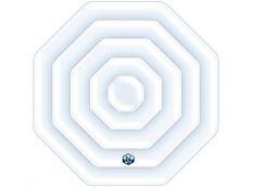 Cubierta isotérmica hinchable para spa NetSpa octogonal 155 x 155 cm Silver y Rover