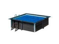 Cubierta isotermica piscina cuadrada composite Gre