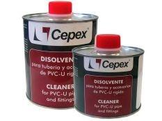 Disolvente limpiador de PVC Bote 500 ml Cepex