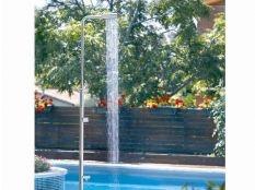 Ducha piscina Diseño en acero inoxidable