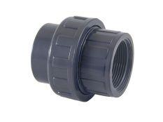 Enlace 3 piezas PVC mixto encolar y roscar hembra para piscinas Cepex
