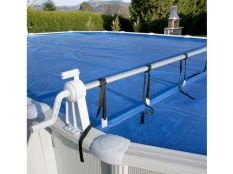 Enrollador Gre para manta térmica de piscinas elevadas