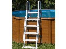 Escalera de seguridad Safety Premium para piscinas desmontables