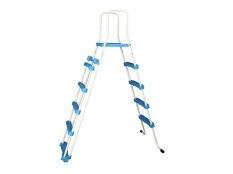 Escalera para piscinas desmontables Dpool con barandilla de seguridad 122-132 cm