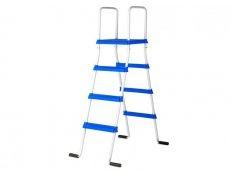 Escalera piscina elevada Gre tipo tijera 142 cm 2x3 peldaños con plataforma