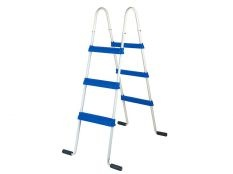 Escalera piscina elevada Gre tipo tijera 90 cm 2x3 peldaños