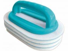 Esponja con 2 placas intercambiables para limpiar línea de flotación Bayrol