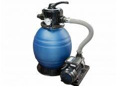 Filtro de arena Monobloc QP con depuradora y con bomba