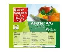 Fungicida sistémico para huerto Aliette Wg Bayer