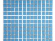 Gresite para piscinas azul liso 25 x 25 mm