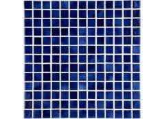 Gresite para piscinas Azul niebla oscuro 50 x 50 mm