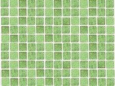 Gresite para piscinas verde puntos negros 25 x 25 mm