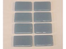 Gresite piscina barato azul liso V12 - 25 x 25 mm
