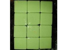 Gresite piscina barato verde liso 25 x 25 mm