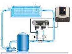 Instalación clorador salino