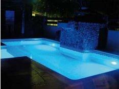 Instalación focos piscina